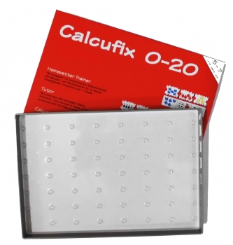Calcufix 0-20, Leerkarton + Tablett
