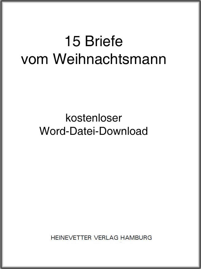 Heinevetter Shop Doc Datei Zur Werkstatt 15 Briefe Vom